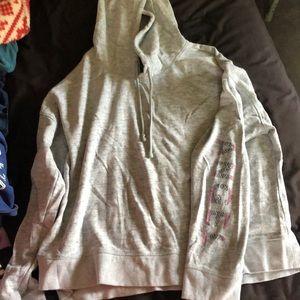 Victoria's Secret short hoodie size xl